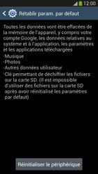 Samsung Galaxy S 4 Active - Téléphone mobile - Réinitialisation de la configuration d