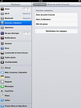 Apple iPad Retina - Internet et roaming de données - Configuration manuelle - Étape 6