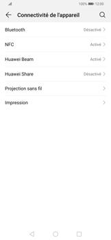 Huawei P Smart Z - Internet et connexion - Connexion avec un équipement multimédia via Bluetooth - Étape 5