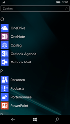 Microsoft Lumia 950 - E-mail - Handmatig instellen (outlook) - Stap 3