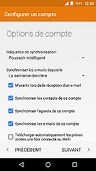 Crosscall Action X3 - E-mail - Configuration manuelle (outlook) - Étape 14