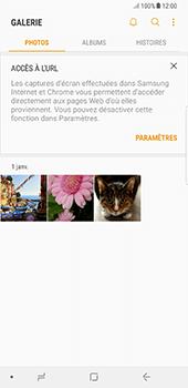 Samsung Galaxy Note 8 - Photos, vidéos, musique - Envoyer une photo via Bluetooth - Étape 4
