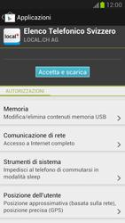 Samsung Galaxy Note II - Applicazioni - Installazione delle applicazioni - Fase 9