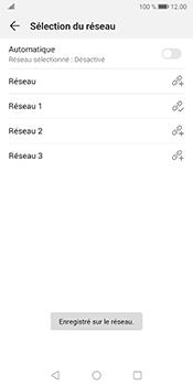Huawei Mate 10 Pro - Android Pie - Réseau - Sélection manuelle du réseau - Étape 11