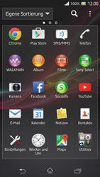Sony Xperia Z - Apps - Nach App-Updates suchen - Schritt 3