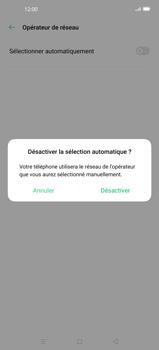 Oppo Find X2 - Réseau - Sélection manuelle du réseau - Étape 8