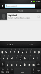 HTC One Mini - Email - Sending an email message - Step 6