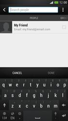 HTC One Mini - E-mail - Sending emails - Step 6