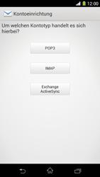 Sony Xperia Z1 - E-Mail - Konto einrichten - Schritt 7