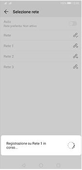 Huawei P20 Pro - Android Pie - Rete - Selezione manuale della rete - Fase 10