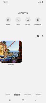 Samsung Galaxy S20 Ultra - Photos, vidéos, musique - Envoyer une photo via Bluetooth - Étape 6