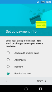 Sony Xperia Z5 Premium (E6853) - Applications - Create an account - Step 18