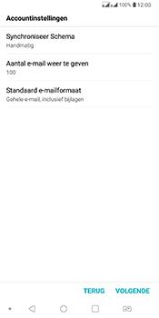 LG Q7 - E-mail - Account instellen (POP3 zonder SMTP-verificatie) - Stap 17
