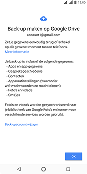 Nokia 5.1 - Data - maak een back-up met je account - Stap 9