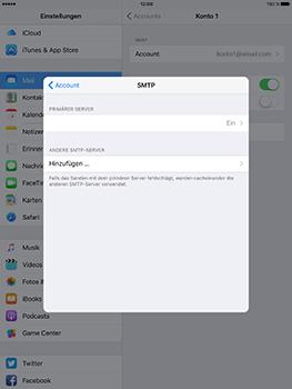 Apple iPad Mini 4 - E-Mail - Konto einrichten - 20 / 32
