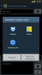 Samsung Galaxy S4 - Contact, Appels, SMS/MMS - Envoyer un MMS - Étape 15