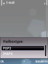 Nokia E75 - e-mail - handmatig instellen - stap 10