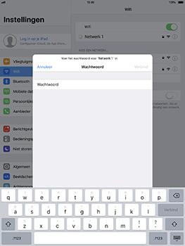 Apple iPad Pro 10.5 inch - iOS 11 - WiFi - Verbinden met een netwerk - Stap 6
