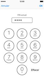 Apple iPhone SE - Sécuriser votre mobile - Personnaliser le code PIN de votre carte SIM - Étape 7