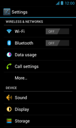 ZTE Blade III - Network - Manual network selection - Step 4
