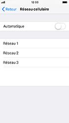 Apple iPhone 5s - iOS 12 - Réseau - Sélection manuelle du réseau - Étape 6