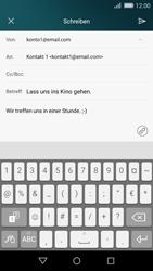 Huawei P8 Lite - E-Mail - E-Mail versenden - 11 / 18