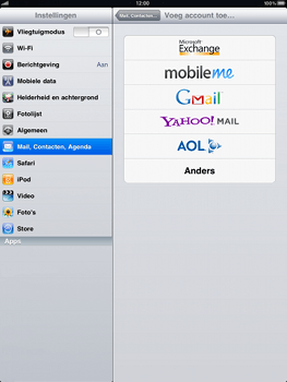 Apple iPad - E-mail - Handmatig instellen - Stap 4
