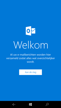 Microsoft Lumia 950 XL - E-mail - handmatig instellen - Stap 5