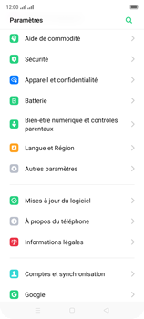 Oppo A9 2020 - Sécuriser votre mobile - Personnaliser le code PIN de votre carte SIM - Étape 4