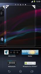 Sony Xperia Z1 - Startanleitung - Installieren von Widgets und Apps auf der Startseite - Schritt 5