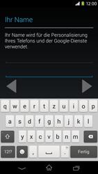 Sony Xperia M2 - Apps - Konto anlegen und einrichten - 6 / 23