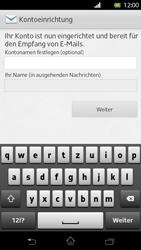 Sony Xperia T - E-Mail - Konto einrichten - Schritt 15