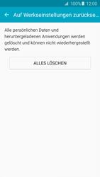 Samsung Galaxy A5 (2016) (A510F) - Gerät - Zurücksetzen auf die Werkseinstellungen - Schritt 7