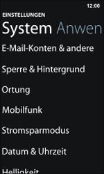 Nokia Lumia 800 / Lumia 900 - E-Mail - Manuelle Konfiguration - Schritt 4