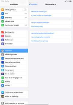 Apple iPad Pro 11 inch 2nd generation (2020) (Model A2230) - Instellingen aanpassen - Fabrieksinstellingen terugzetten - Stap 5