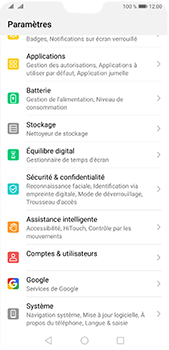 Huawei P20 Pro - Android Pie - Logiciels - Installation de mises à jour - Étape 3