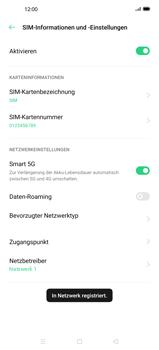 Oppo Find X2 Pro - Netzwerk - Manuelle Netzwerkwahl - Schritt 13