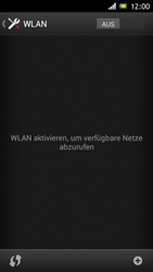 Sony Xperia J - WiFi - WiFi-Konfiguration - Schritt 5