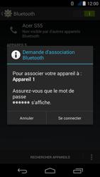 Acer Liquid Jade - Bluetooth - jumelage d