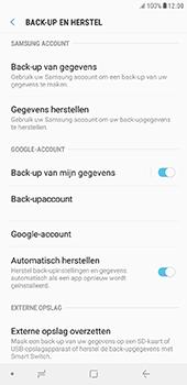 Samsung Galaxy J6 Plus - toestel resetten - back-up maken met jouw account - stap 9