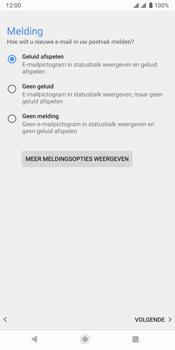 Sony xperia-xz3-dual-sim-model-h9436 - E-mail - Handmatig Instellen - Stap 15