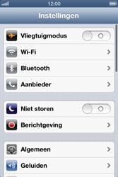 Apple iPhone 4 (iOS 6) - wifi - handmatig instellen - stap 3