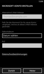 Nokia Lumia 820 LTE - Apps - Konto anlegen und einrichten - Schritt 13