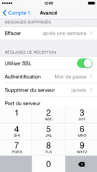 Apple iPhone 5c - iOS 8 - E-mail - configuration manuelle - Étape 23