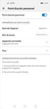 Huawei Nova 5T - WiFi - Comment activer un point d'accès WiFi - Étape 10