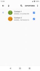 Sony xperia-xz-premium-g8141-android-pie - Contacten en data - Contacten kopiëren van toestel naar SIM - Stap 11