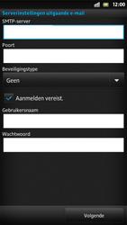 Sony LT22i Xperia P - E-mail - Handmatig instellen - Stap 11