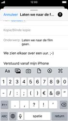 Apple iphone-se-met-ios-13-model-a1723 - E-mail - Hoe te versturen - Stap 8