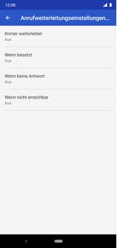Nokia 6.1 Plus - Android Pie - Anrufe - Rufumleitungen setzen und löschen - Schritt 11