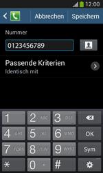 Samsung Galaxy Ace 3 - Anrufe - Anrufe blockieren - 12 / 14